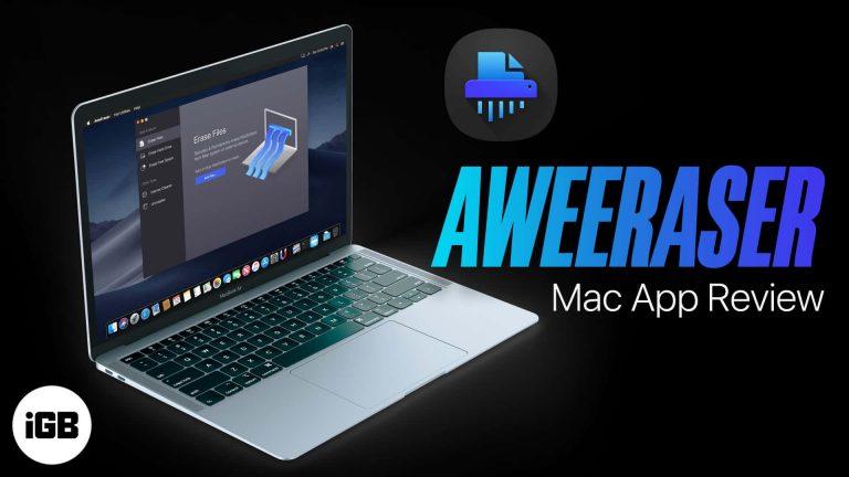 AweEraser для Mac: навсегда удаляйте файлы и делайте их невосстановимыми!