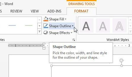 Как рисовать в Microsoft Word 2013