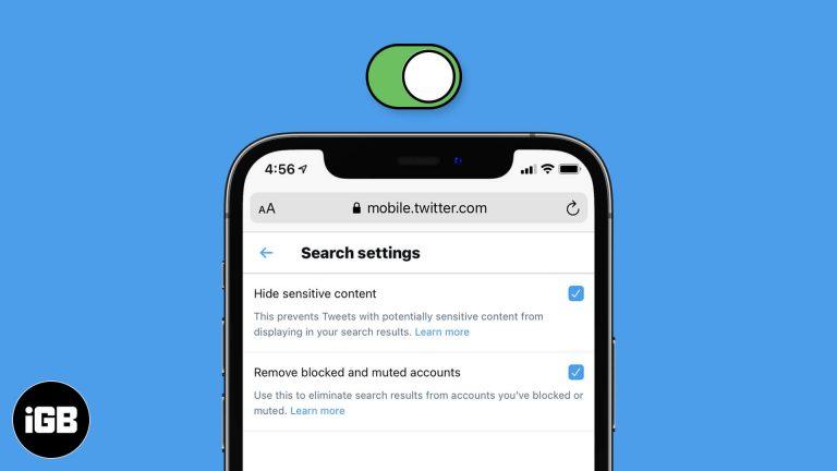 Как включить режим безопасного поиска в Twitter на iPhone, iPad и ПК