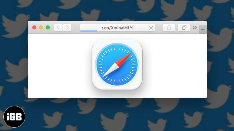 Safari не открывает короткие ссылки t.co из Twitter?  Быстрые исправления