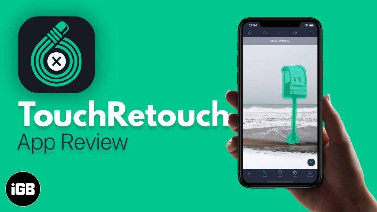 Приложение TouchRetouch для iOS: удаление нежелательных объектов с фотографий на iPhone