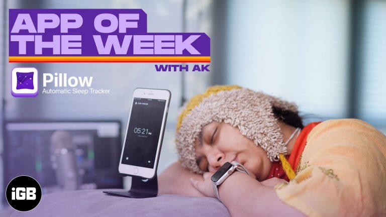 Приложение недели: автоматический трекер сна Pillow (15–21 января 2021 г.)
