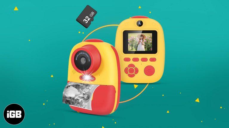 Лучшие камеры для мгновенной печати для детей в 2021 году для печати снимков