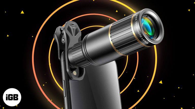 Лучшие телескопы для iPhone для исследования ночного неба в 2021 году