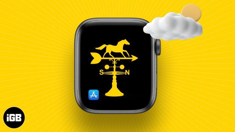 Лучшие погодные приложения для Apple Watch в 2021 году
