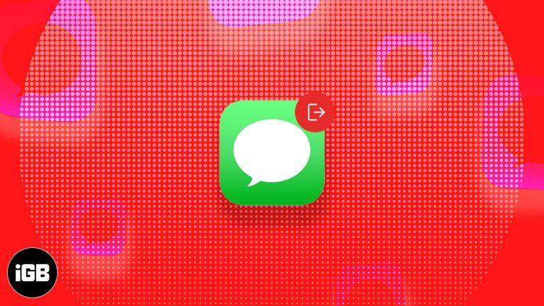 8 простых исправлений для ошибки выхода iMessage на iPhone
