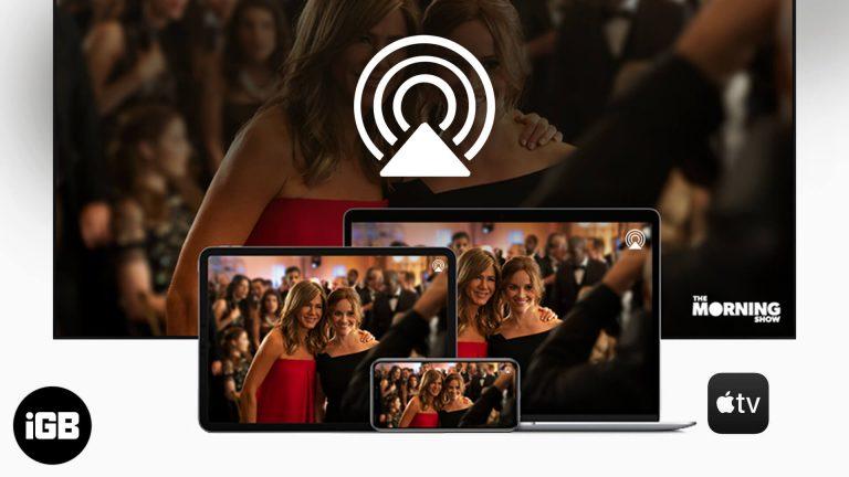 Как использовать AirPlay на Apple TV с iPhone, iPad и Mac