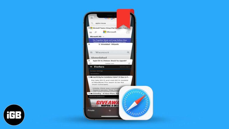 Как добавить в закладки сразу все открытые вкладки Safari на iPhone и iPad