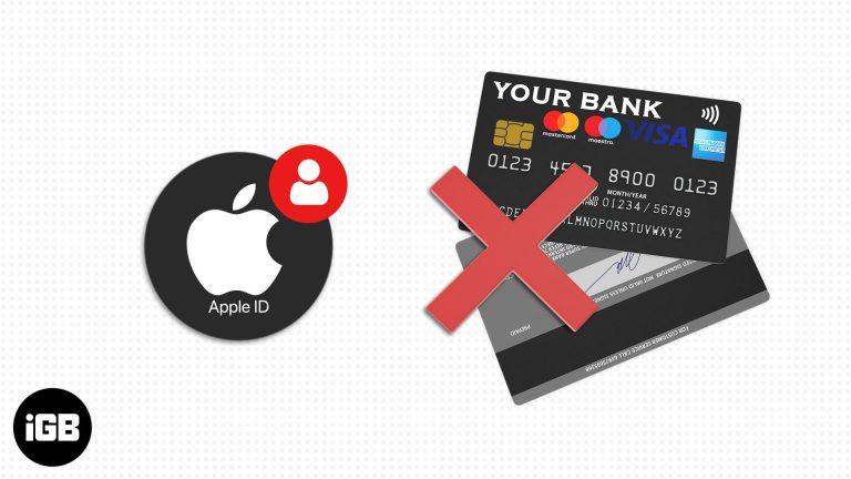Как создать Apple ID без кредитной карты (3 простых способа)