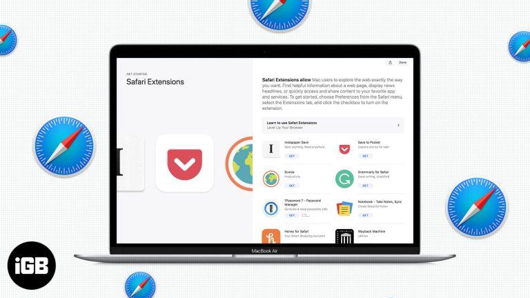 Как установить расширения Safari на Mac всего за 4 простых шага