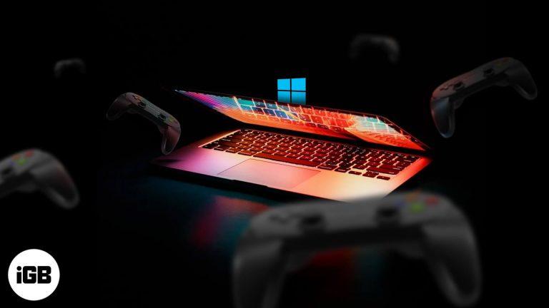 Как играть в игры для Windows на Mac (Лучшие приемы)