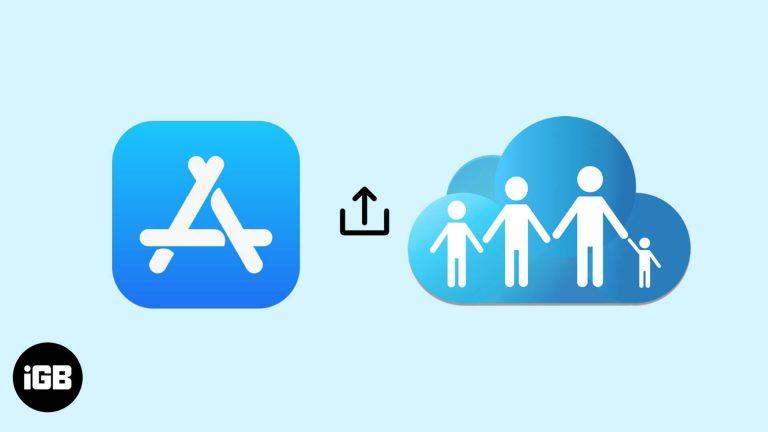 Как поделиться купленными приложениями для iPhone с членами семьи