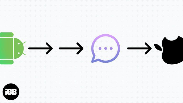 Как перенести текстовые сообщения с Android на iPhone