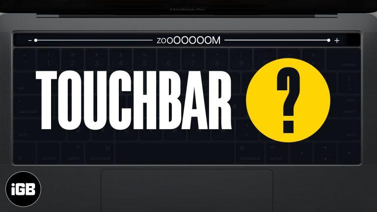 Как включить и использовать Touch Bar Zoom на MacBook Pro