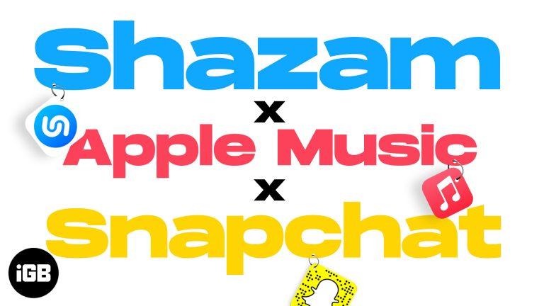 Как использовать Shazam с Apple Music, Snapchat и другими
