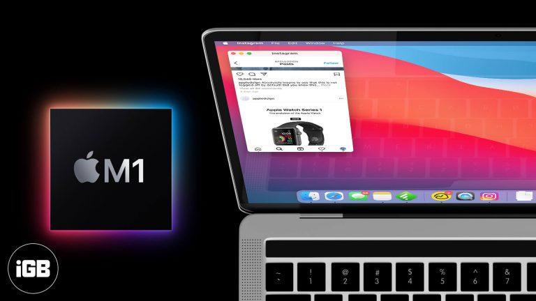Как установить приложения для iPhone или iPad на Mac M1 (2 способа)