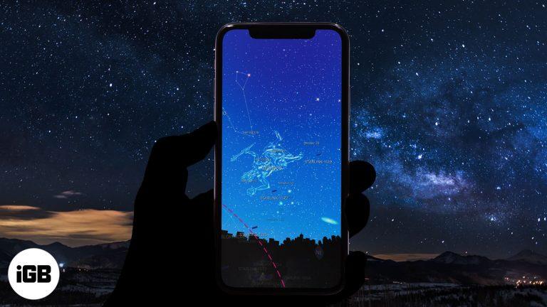 Лучшие приложения для наблюдения за звездами для iPhone и iPad в 2021 году