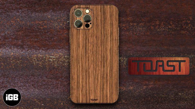Обзор деревянного чехла Toast для iPhone 12: самый тонкий деревянный корпус