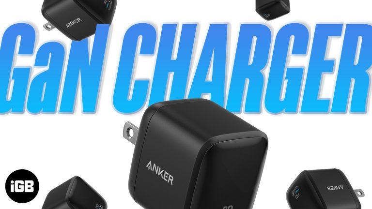 Что такое зарядное устройство GaN?  5 лучших зарядных устройств с GaN для покупки в 2021 году