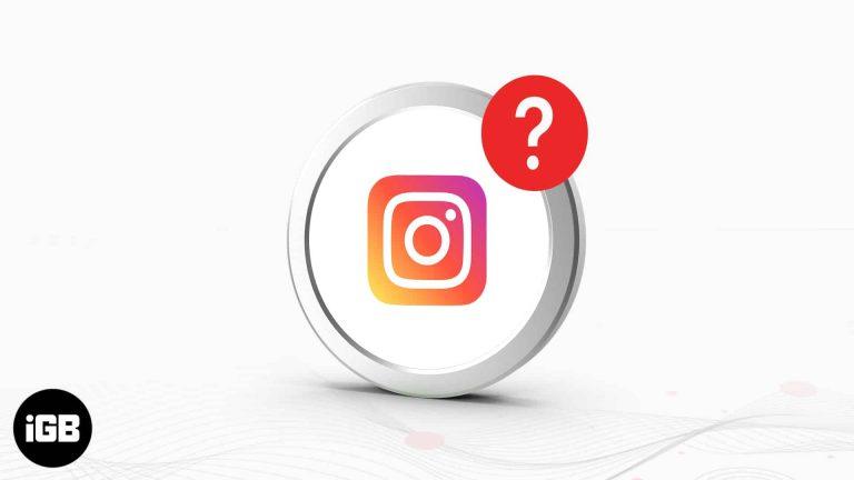 Как исправить уведомления Instagram, не работающие на iPhone