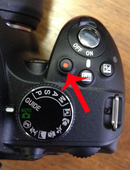 Как записывать видео с помощью Nikon D3200