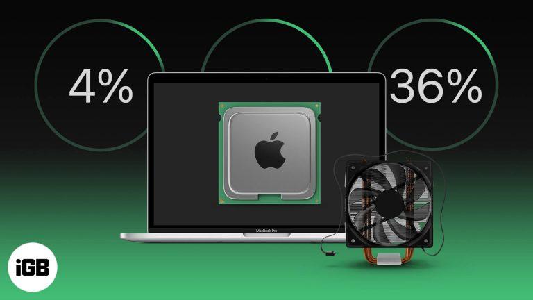Как проверить температуру процессора и скорость вращения вентилятора на Mac