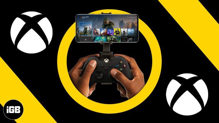 Как играть в игры Xbox на iPhone и iPad (удаленная игра Xbox)