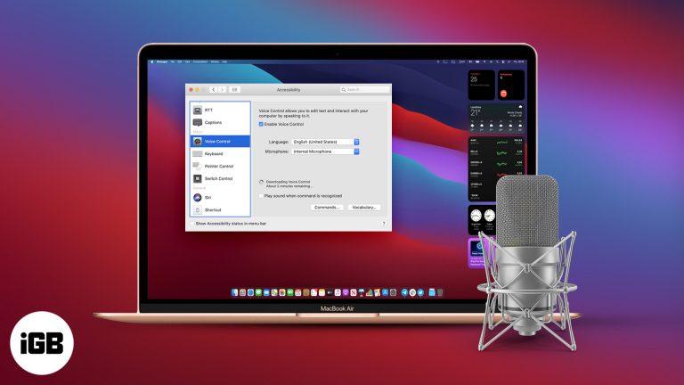 Как использовать голосовое управление на Mac: полное руководство