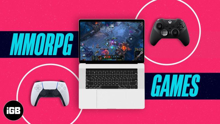 Лучшие MMORPG для Mac в 2021 году