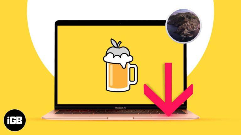 Как установить Homebrew в macOS Catalina или M1 Mac