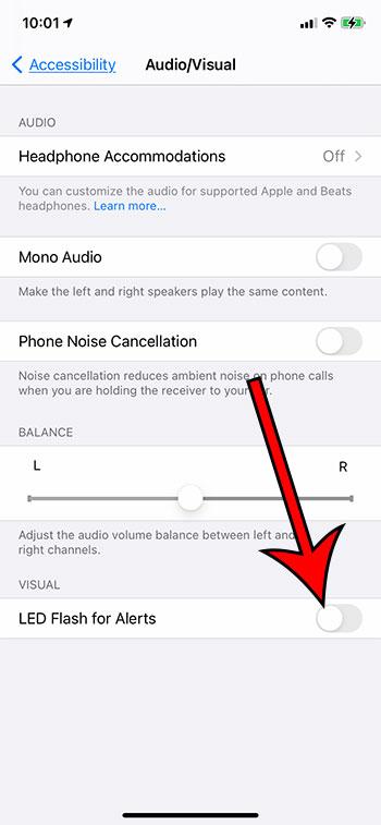 Как отключить Flash-уведомление на iPhone 5