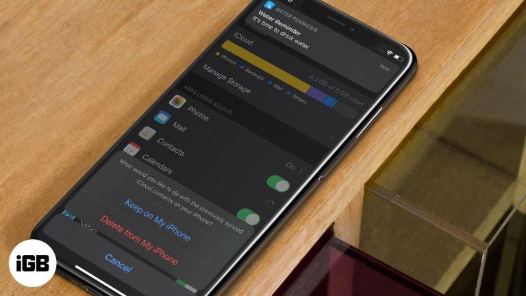 Контакты айфона пропали?  Вот исправление!  (обновлено iOS 14)