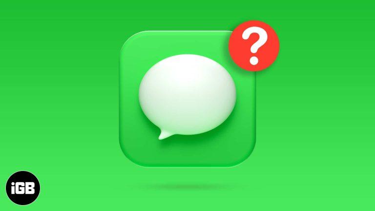 Как исправить уведомления iMessage, не работающие на iPhone (Решения 9)