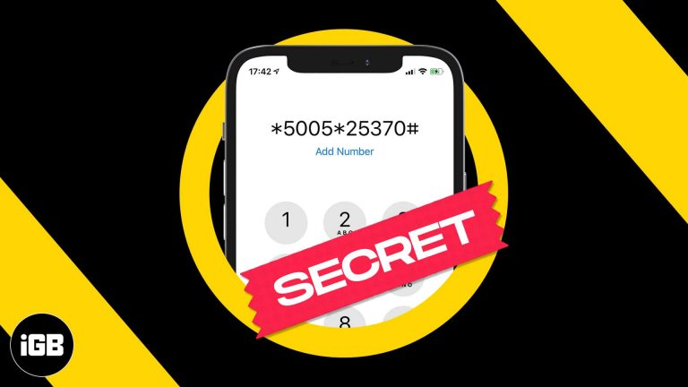 10 секретных кодов iPhone, которые вы можете попробовать прямо сейчас!  (Обновлено 2021 г.)