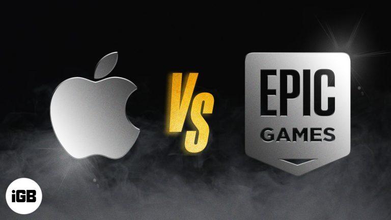 Apple против Epic Games: что мы знаем на данный момент?