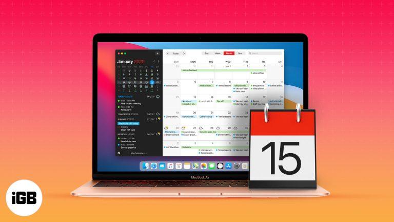 5 лучших календарей для Mac на 2021 год