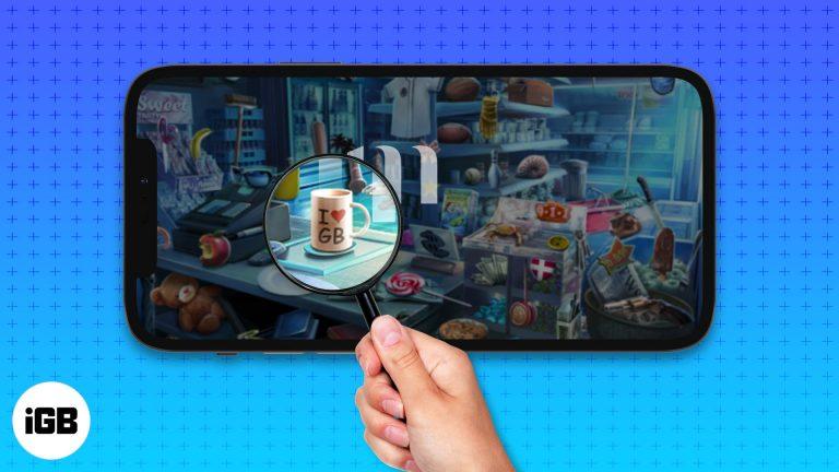 Лучшие игры со скрытыми объектами для iPhone и iPad в 2021 году