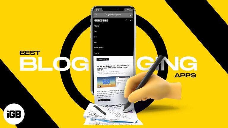 Лучшие приложения для ведения блогов для iPhone и iPad в 2021 году (должен быть у каждого блоггера)