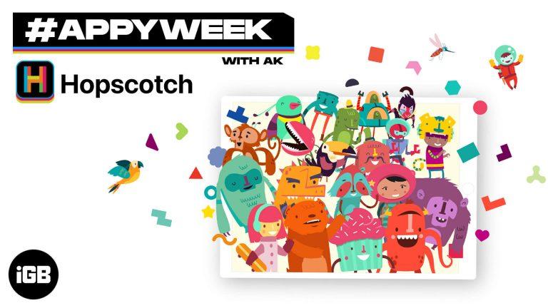 #AppyWeek с AK: Hopscotch упрощает программирование для детей