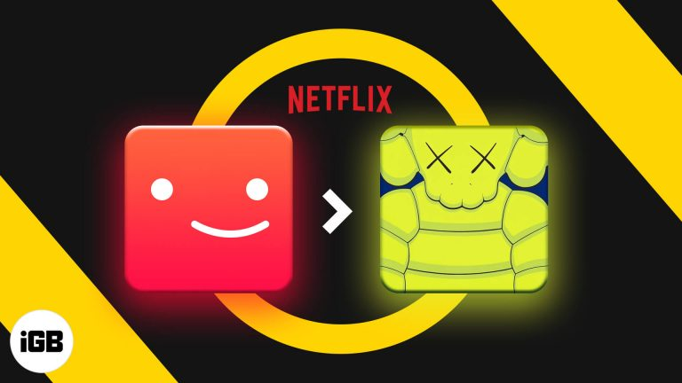 Как изменить изображение профиля Netflix на iPhone