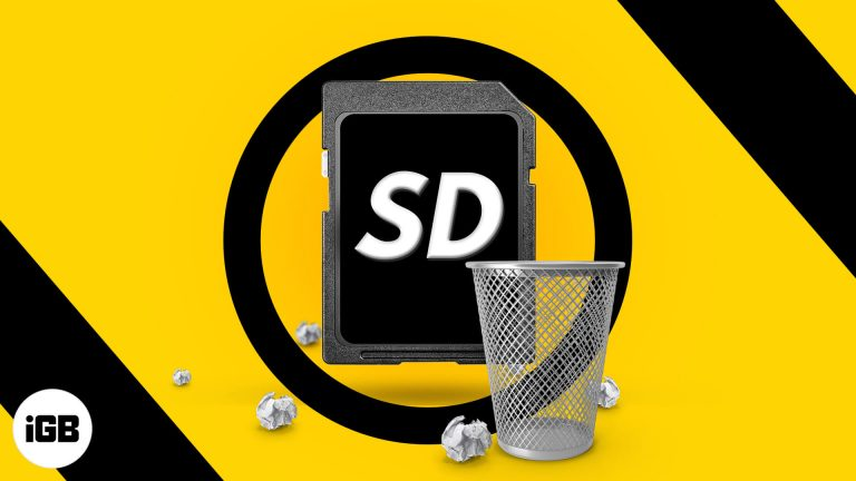 Как отформатировать SD-карту на Mac (объяснение 3 простых способа)