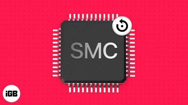 Как сбросить SMC на Mac и зачем вам это нужно?  (Mac на базе Intel)