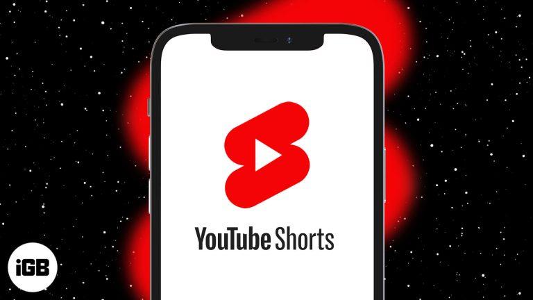 Как использовать YouTube Shorts на iPhone (объяснено с помощью изображений)