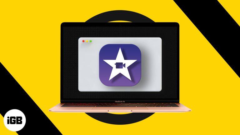 Как использовать iMovie на Mac (руководство с изображениями для начинающих)