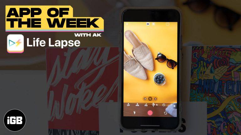 Приложение недели: Life Lapse Stop Motion Maker (5–11 марта 2021 г.)