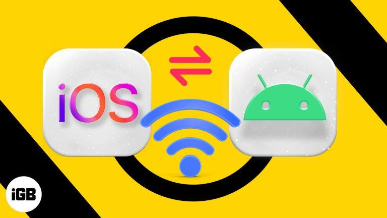 Как поделиться паролем Wi-Fi с iPhone на Android
