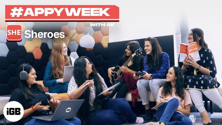 #AppyWeek с AK: Sheroes – социальная сеть для женщин