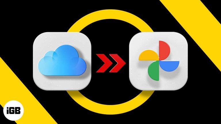 Как перенести ваши фото из iCloud в Google Фото (2 способа)
