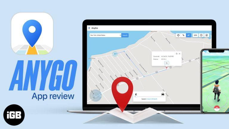 iToolab AnyGo: имитируйте любое местоположение GPS на устройстве iOS (без взлома)