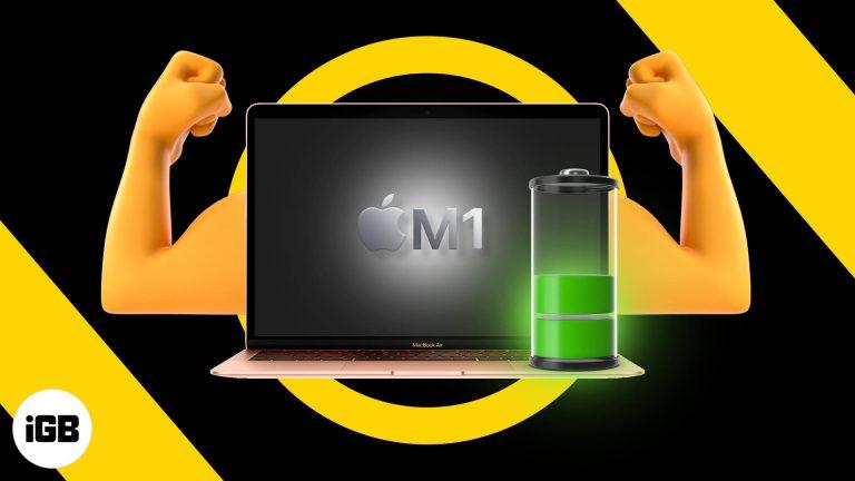 9 лучших советов по увеличению времени автономной работы MacBook M1